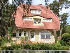 Pilzförmiges Haus