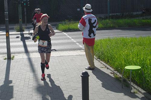 Marika Heinlein bei den 100 Meilen von Berlin