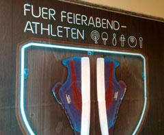 Plakat Fuer Feierabend-Athleten