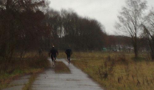 Zwei Läufer
