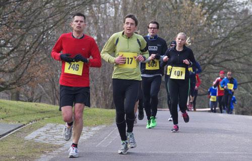 Läufer beim Britzer Garten Lauf