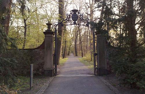 Tor im Schlossgarten