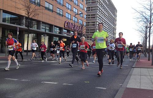 Halbmarathon-Teilnehmer
