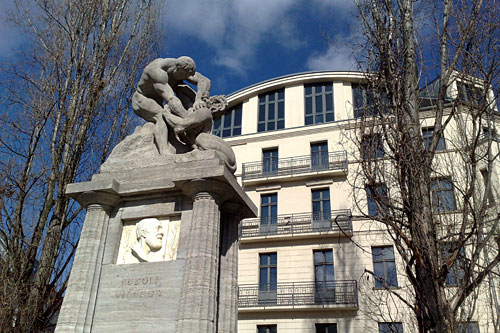 Denkmal für Rudolf Virchow