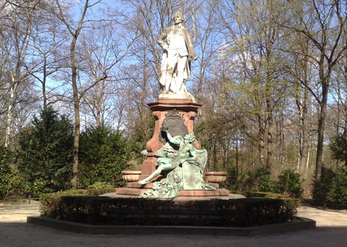 Lessing-Denkmal am Tiergarten