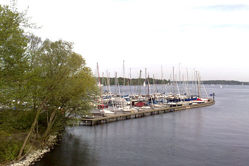 Segelboote auf dem Wannsee