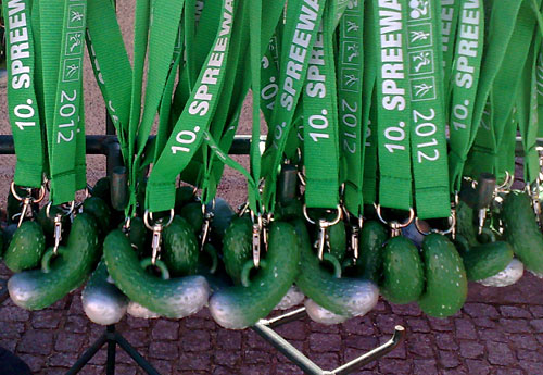 Gurken-Medaillen