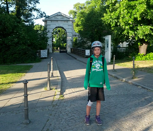 Eingang zum Schloss Köpenick