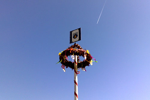 Maibaum in Kagel