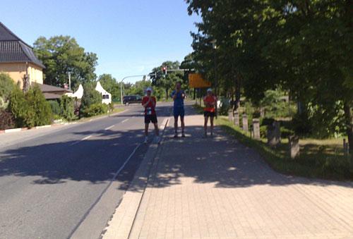 Läufer in Lichtenow