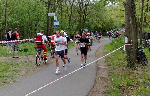 Läufer des Drittelmarathon