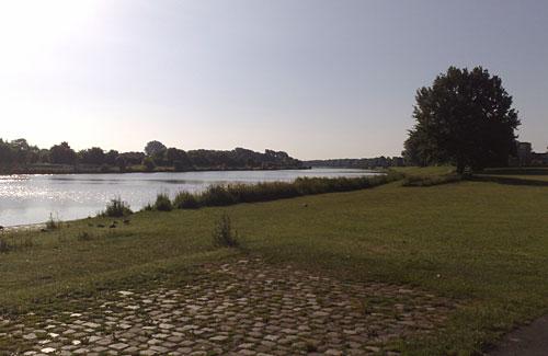 Blick auf den Werdersee