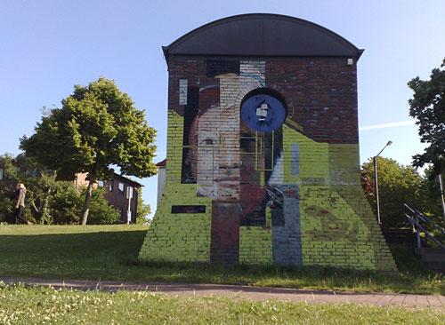 Wandmalerei am Osterdeich