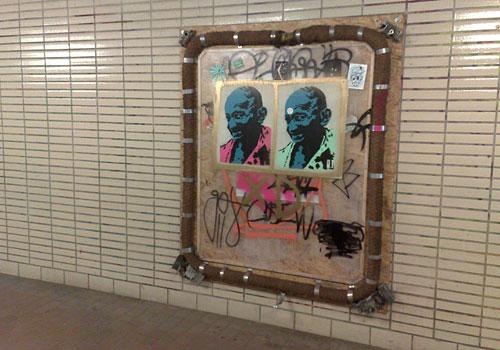 Kunstobjekt im Kunsttunnel Bremen