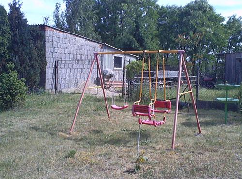 Kinder-Schaukelgerüst