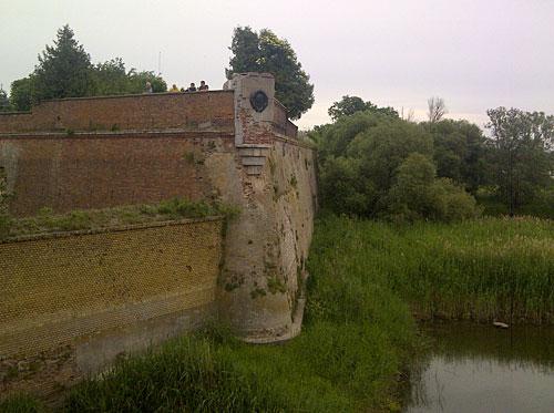 Ruine der ehemaligen Festung Küstrin in Kostrzyn