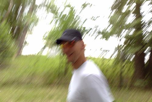 Läufer am Scharmützelsee