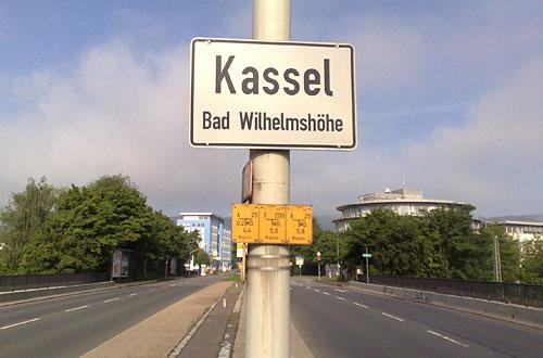 Schild Kassel Bad Wilhelmshöhe