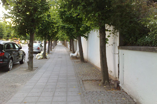 Wilhelmstraße in Sellin