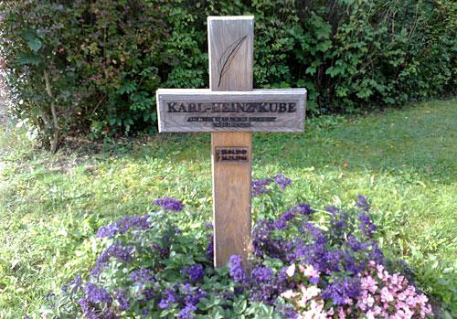 Gedenkkreuz Karl-Heinz Kube