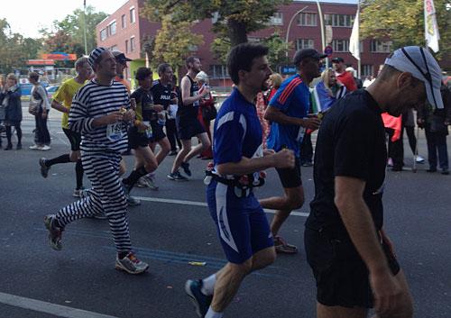 Marathon-Läuferinnen und -Läufer
