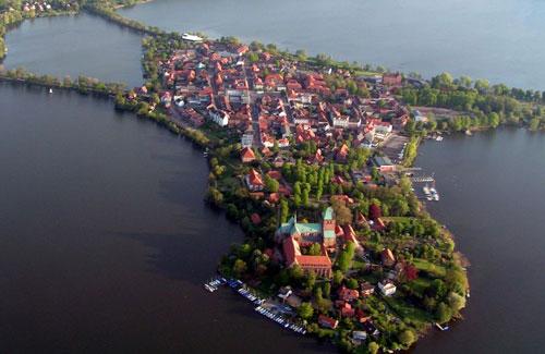 Ratzeburg mit dem Ratzeburger See