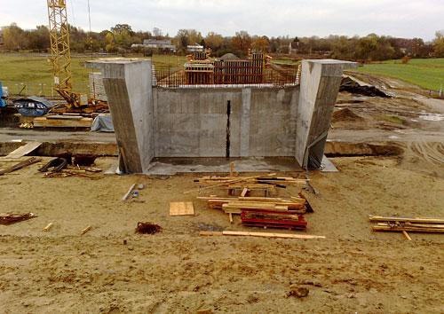 Brücken-Baustelle