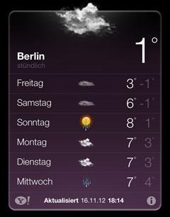 Wettervorhersage für den Lauf-Sonntag: eine Sonne mit Regen