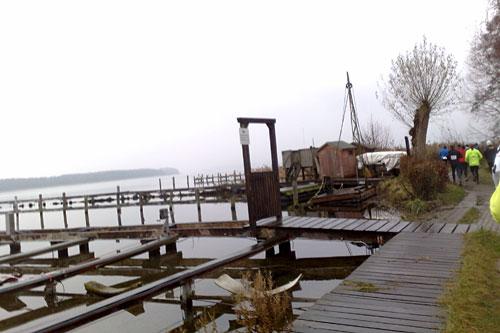 Bootsstege am Ratzeburger See
