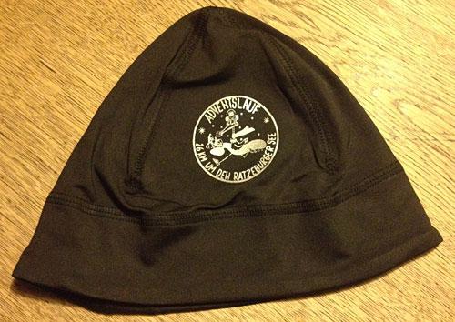 Läufer-Mütze mit Aufdruck Adventslauf