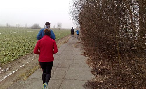 Läufer im Berliner Süden