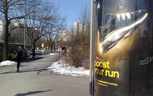 Plakat Boost your run