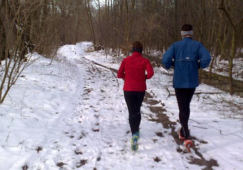 Läufer in der Diedersdorfer Heide