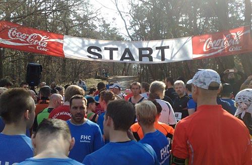 Vor dem Start zum Köpenicker Altstadtlauf