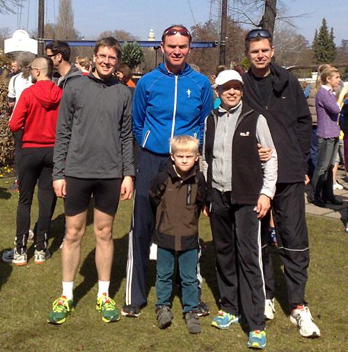 Die startblog-f-Läufer nach dem Köpenicker Altstadtlauf 2013