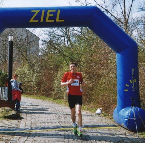 Zieleinlauf beim Köpenicker Altstadtlauf 2013