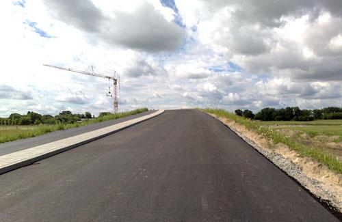 Neue Brücke nach Mahlow