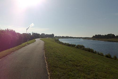 Laufweg am Werdersee
