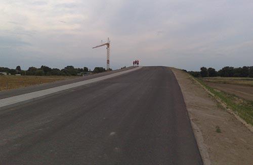 Neue Brücke bei Mahlow