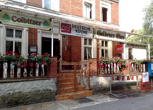 Gaststätte Goldener Eber in Genshagen