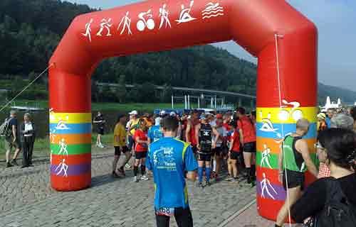 Start der 30-km-läufer
