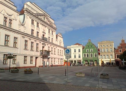Marktplatz in Güstrow