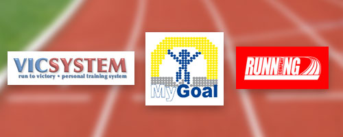 Am Start: VicSystem, MyGoal und Running Company