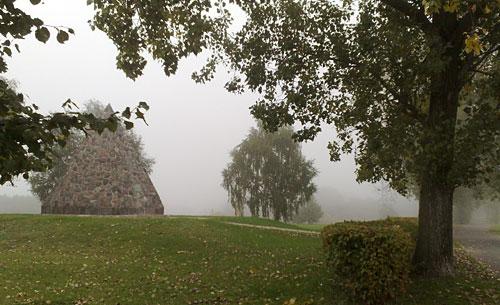 Die Bülow-Pyramide in Großbeeren lag dieses Mal an meiner Laufstrecke