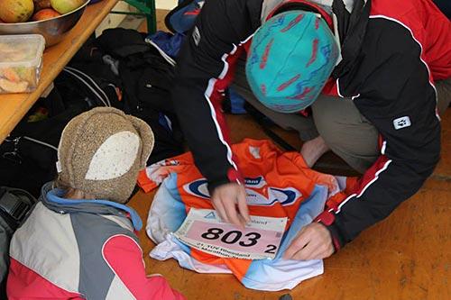 Vorbereitung auf den Staffellauf