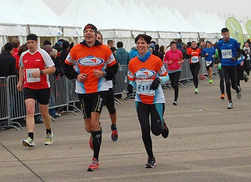 Team World Vision Running Twins Paarlauf