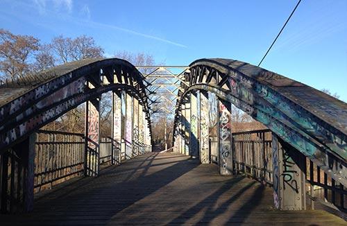 Brücke über den Teltowkanal