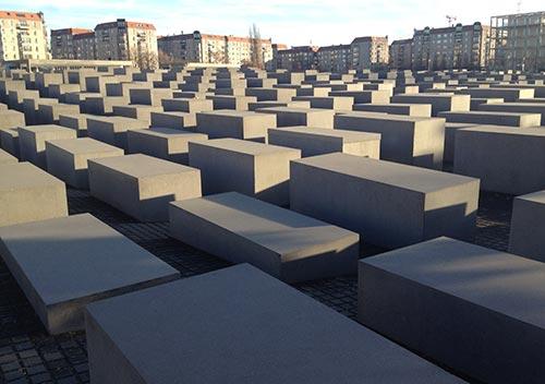 Stelen des Denkmals für die ermordeten Juden Europas