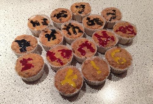 Geburtstags-Muffins zum 6. Geburtstag von startblog-f