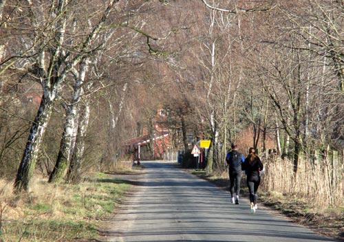 Läufer-Gruppe bei Birkholz